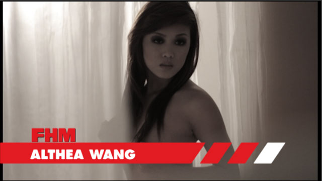 Althea Wang - December 2010 FHM Online Babe