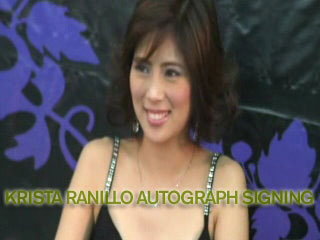 Krista Ranillo Autograph Signing