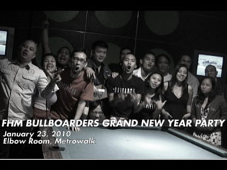 FHM Bullboarders Grand New Year Party