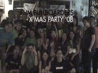 FHM Bullboarders Xmas Party 08