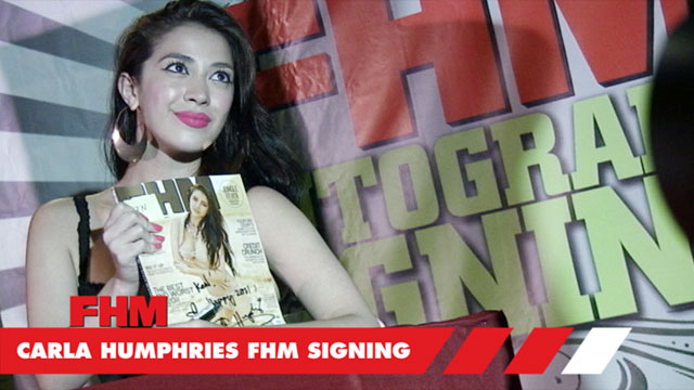 Carla Humphries  Autograph Signing