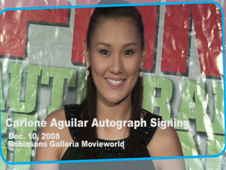 Carlene Aguilar Autograph Signing Photos Fan Photos