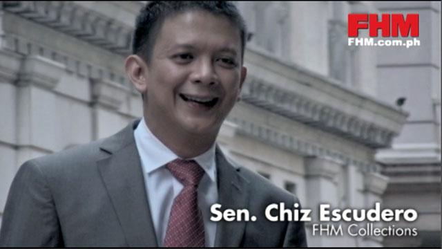 FHM Collections: Sen. Chiz Escudero