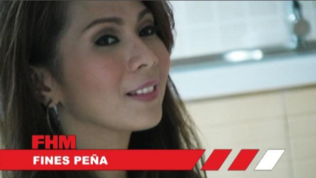 Fines Pena - January 2011 FHM 100% Hottie