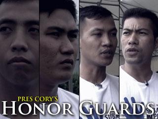 Pres. Aquino's Honor Guards