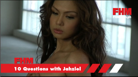 Jahziel answers our 10 steamy questions