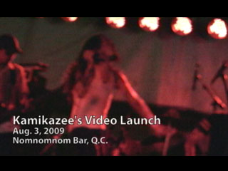 Kamikazee Video Launch