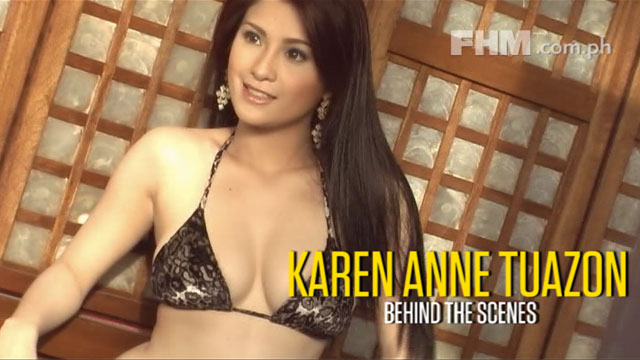 Karen Anne Tuazon - April 2011 FHM Online Babe