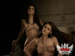Lucia Dias and Rose Fernandes - March 2007