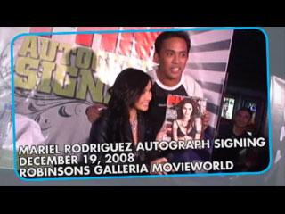 Mariel Rodriguez Autograph Signing Fan Photos