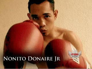 Nonito 'The Filipino Flash' Donaire Jr.
