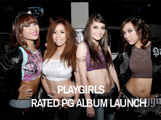 Playgirls Rated PG album launch