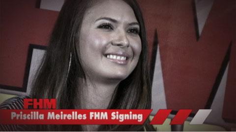 Priscilla Meirelles FHM Autograph Signing