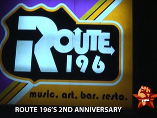 Route 196's 2nd Anniversary