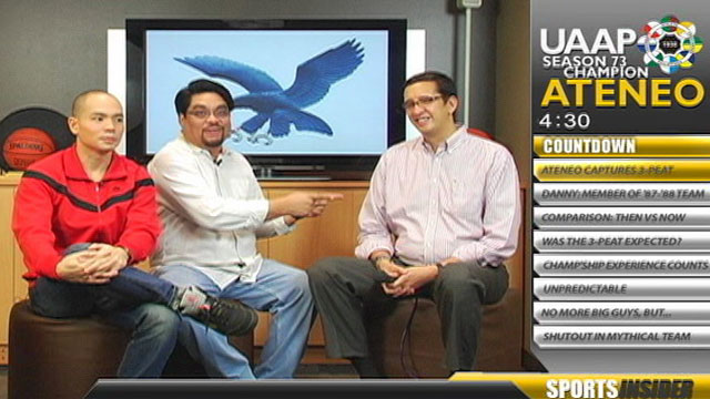 Sports Insider: UAAP 2010 Champs: Ateneo Blue Eagles