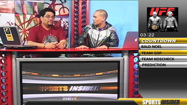 Sports Insider: UFC 124: GSP vs Koscheck