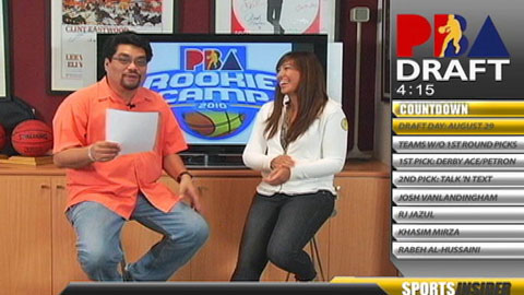 Sports Insider : PBA Draft