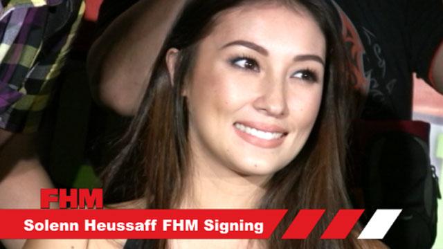 Solenn Heussaff's  FHM  Autograph Signing