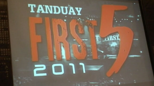 Tanduay First Five Press Launch