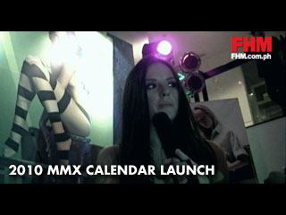 2010 MMX Calendar launch