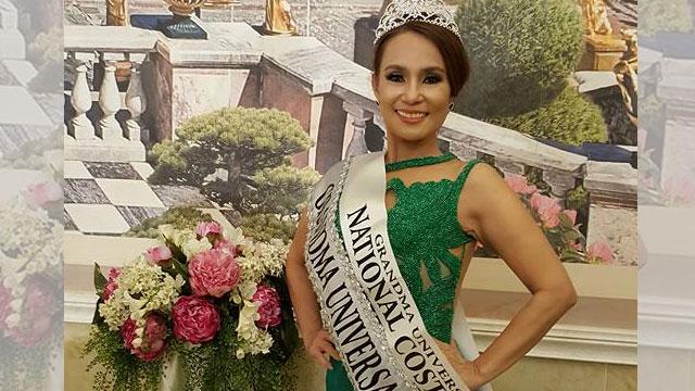 48-Year-Old Pinay Wins Mrs. Grandma Universe 2016