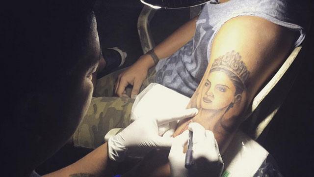 Hardcore Fan Gets Pia Wurtzbach Tattoo