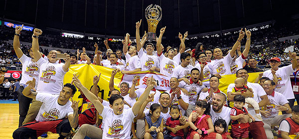 IN PHOTOS: The San Miguel Beermen Are Your PBA Philippine Cup Champions!