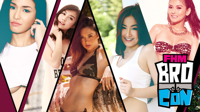 FHM BroCon: A Sneak Peek At The Booth Girls Of The Manliest Event Of The Year!