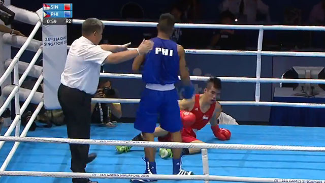 WATCH: A Brutal KO And Four More Gold Medal Performances From Pinoy Boxers At The SEA Games