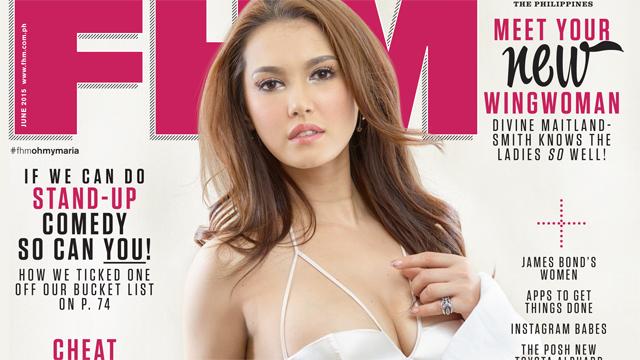 Maria Ozawa Is FHM's June 2015 Cover Girl!