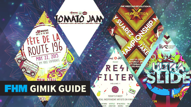 The FHM Gimik Guide: A Pinoy Wrestling Championship, An Indie Jam, & An Epic Slip 'N Slide
