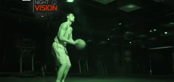 LIGHTS OUT: Klay Thompson Can Shoot Threes In The Dark