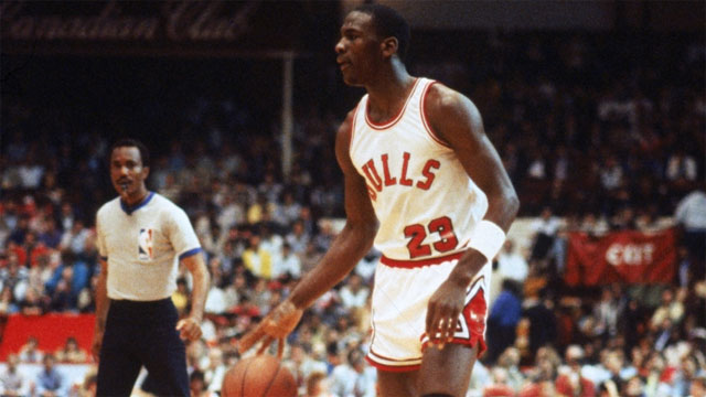 A Look Back At Michael Jordan's First-Ever NBA Game