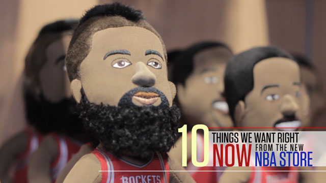 10 Things We Want Right Now From The New NBA Store In SM Megamall