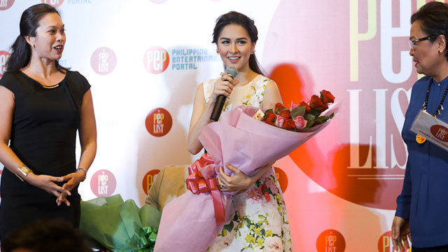 PEP List Awards: Marian Rivera And This Year's Other Outstanding Celebrities!