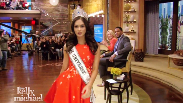 WATCH: Pia Wurtzbach Stuns With The Miss Universe Victory Walk She Never Got To Do
