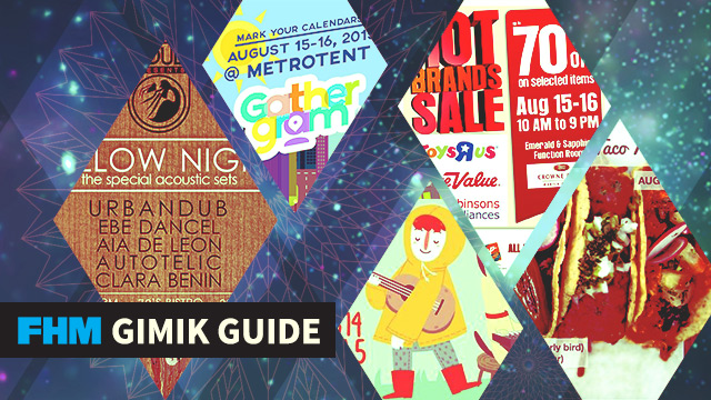 FHM Gimik Guide: An Instagram Meetup, An Urbandub Gig, And A Mexican Cooking Party!