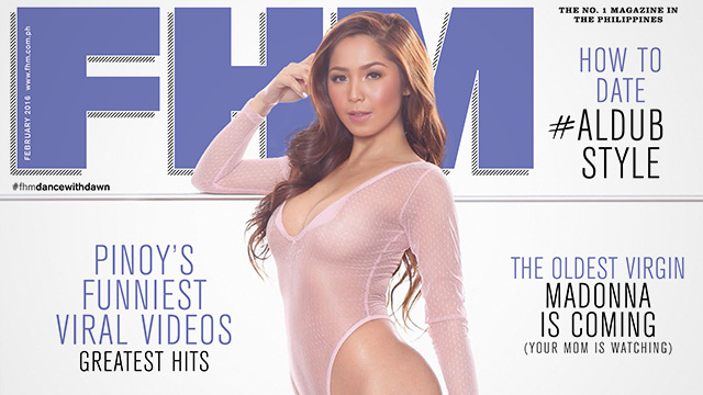 Dawn Chang Is FHM's February 2016 Cover Girl!