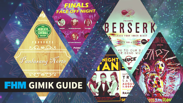 The FHM Gimik Guide: One Night Stan Book Signing, Food Overload, And Party For A Cause!