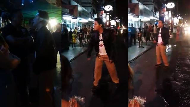 WATCH: Baron Geisler Goes Super Saiyan Outside A Bar In Pampanga