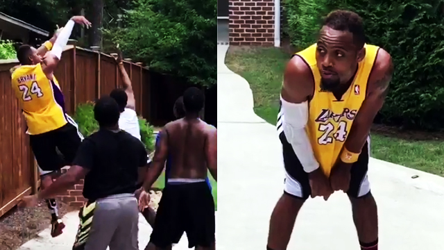 WATCH: This Might Just Be One Of The Best Kobe Bryant Impersonations Yet
