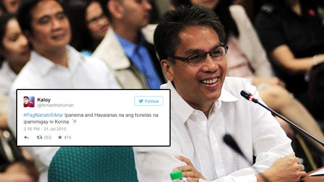 #ELEKSYON2016: How Social Media Reacted To P-Noy Endorsing Mar Roxas