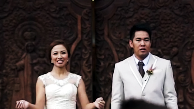 WATCH: This Newlywed Couple Thought They Were In For A Happy Ending, Until...