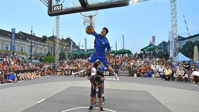 A High-Flying Recap Of Kobe Paras' FIBA 3x3 Slam Dunk Title Defense In Rim-Rocking GIFs