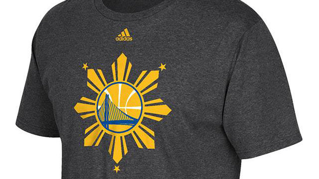 LOOK: Golden State Warriors Reppin' Pinoys With Special Edition Shooting Shirts