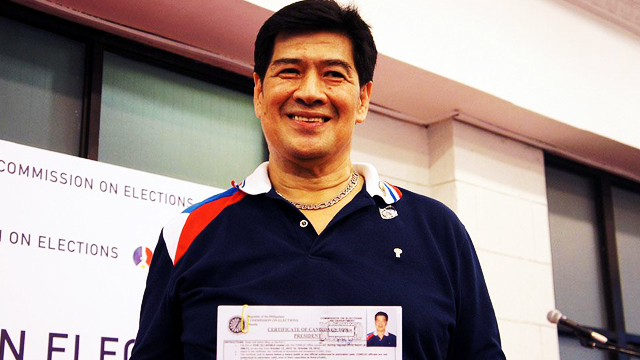 THIS JUST IN: PDP-Laban's Martin Diño Withdraws COC, Paves The Way For Duterte's Presidential Bid