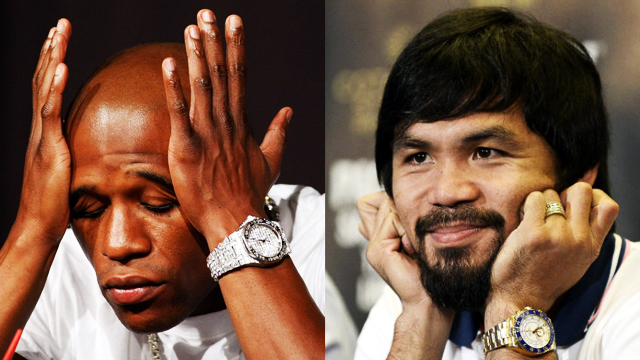 How Team Pacquiao And Team Mayweather Reacted To Floyd's Doping Controversy