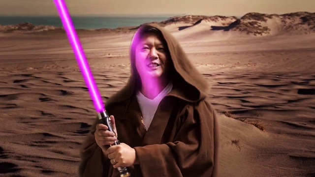 The Force Is Strong With Bongbong Marcos In His New Online Video