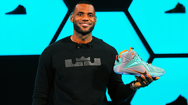 Here's A Tour Of One Of LeBron James' Shoe Closets!