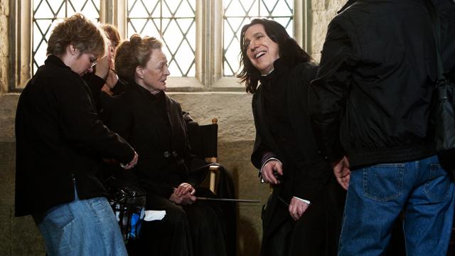 Remembering Alan Rickman: Professor Snape's Jolly Off-Cam Moments